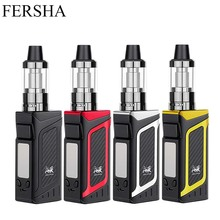 FERSHA electronic cigarette 80W vape pen mod kit hookah 2000mah battery 510 metal case 3.5ml 0.5ohm e-cigarette atomizer vaper