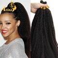 7A Afro Kinky Straight Italian Coarse Yaki Human Braiding Hair Bulk No Weft Unprocessed Virgin Brazilian Crochet Hair Extensions