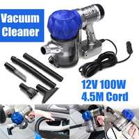 3500pa Strong Power car vacuum cleaner DC 12V 100W Portable Handheld Cyclonic Wet/Dry Auto Portable Wireless Vacuums Cleaner