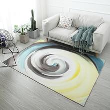 Ink Landscape 3D Carpets For Living Room Chinese Style Floor Rugs Bedroom Study/Dinning Mat Soft Carpet Kids Home