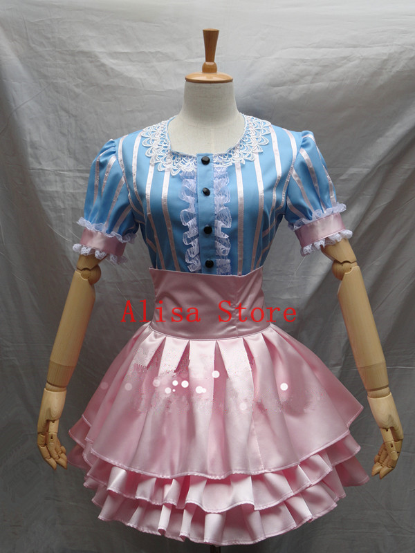 SoniAni Super Sonic Costumes Super Sonico Blue Pink Game Cosplay Costume Anime Halloween Dress costumes шины goodyear ultra grip ice arctic 205 65 r15 94t