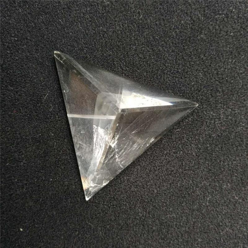 6 cm Tétraèdre Quartz Pyramide Naturel Clair Quartz Pyramide Chakra Pyramid Maître Guérison Quartz