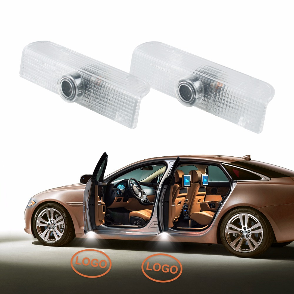 New Arrival 2 x LED Car Door Courtesy Laser Projector Logo Ghost Shadow Light for Nissan Altima Armada Maxima Quest Titan Teana for most cars 2pcs led car door light courtesy logo laser projector punching ghost shadow lamp lights for cadillac logo