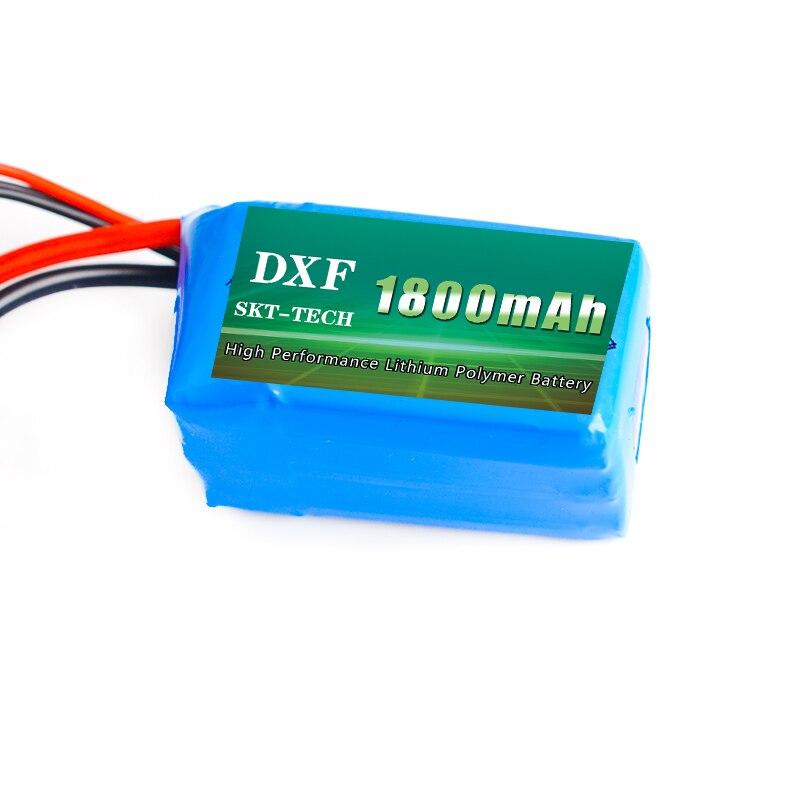 DXF 7.4V 1800mah 2S 20C Lipo Battery Max 40C for Wltoys A959-b A969-b A979-b K929-B RC Car parts