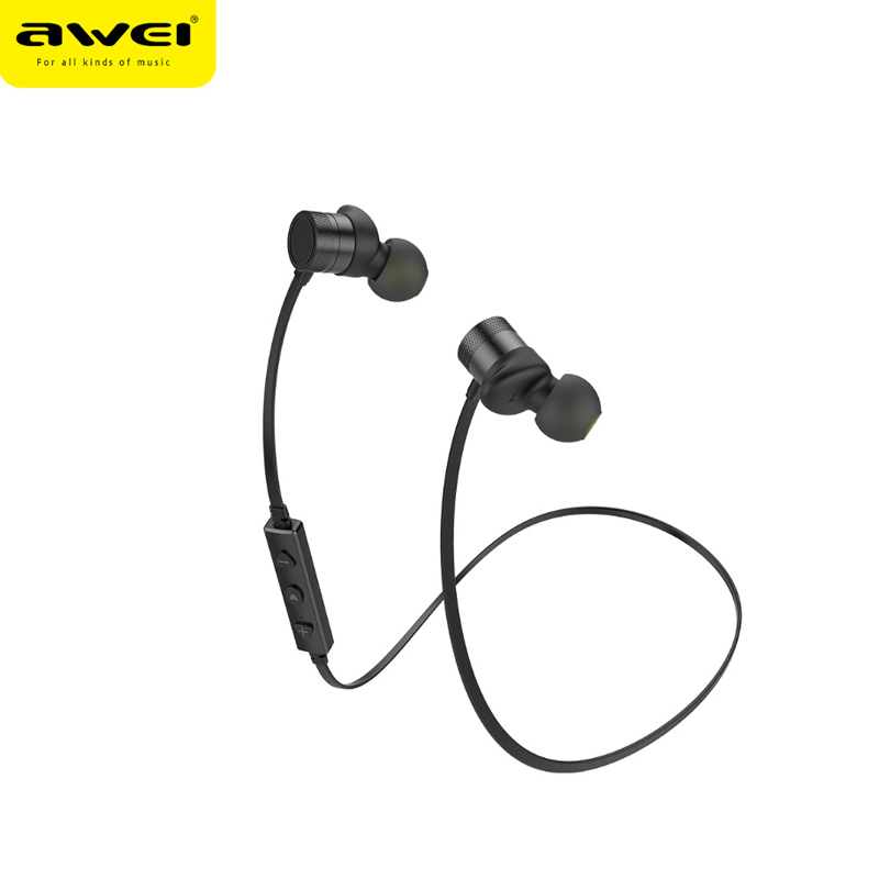 Awei WT20 halterneck IPX4 Waterproof Bluetooth Dual Driver Magnet Inear Earphone