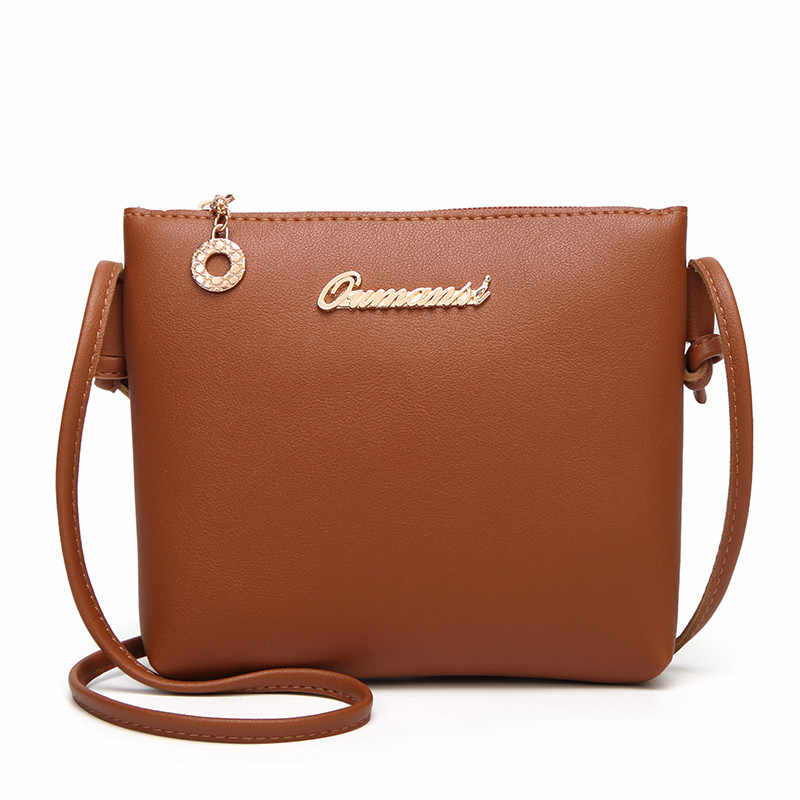 Women Bag Fashion Solid Color Crossbody Messenger Phone Coin carteras mujer de hombro y bolsos borsa donna bolsos mujer