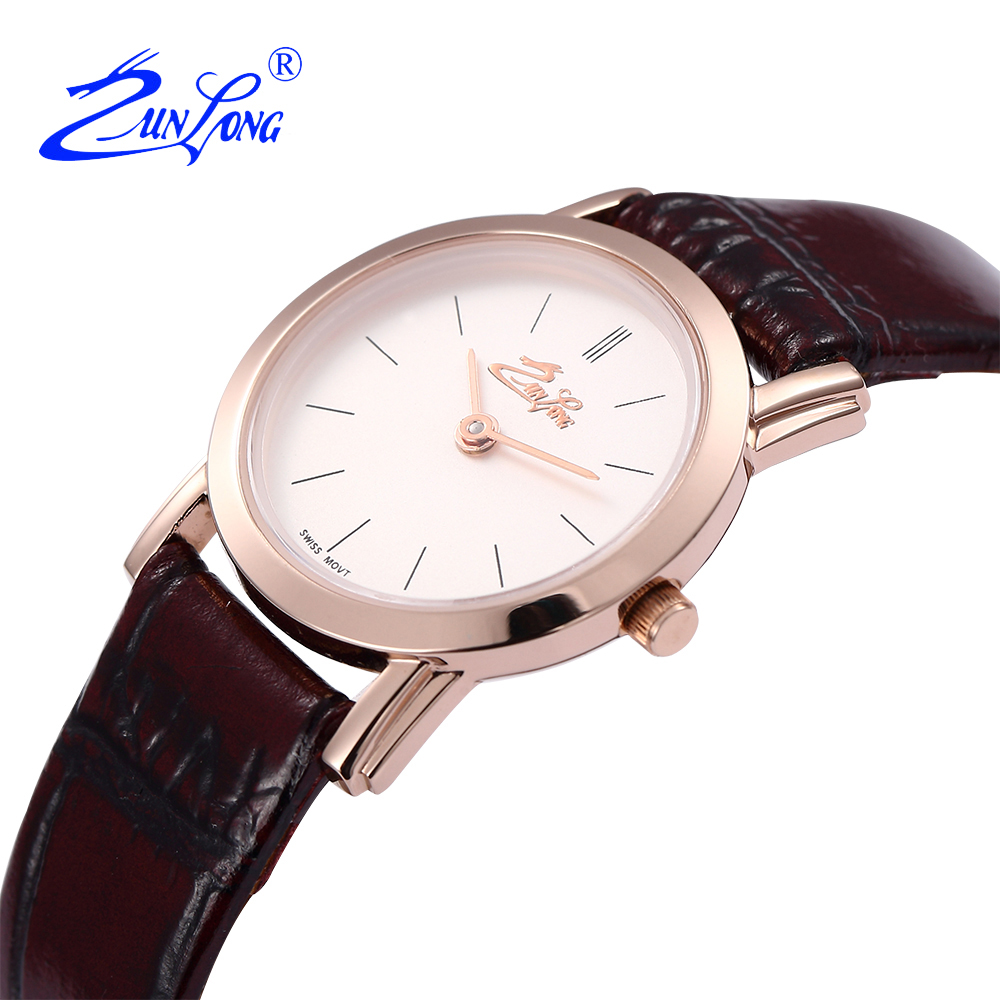ZUNLONG Mens Watches Top Brand Luxury Quartz Watch Men Leather Women Watches Buckle Relogio Feminino Reloj Mujer Montre Femme  brand new women watches luxury design quartz watch women unisex mens leather business wrist watches relogio feminino reloj jo