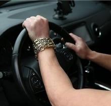 Europa en de Verenigde Staten mannen titanium stalen armband gereedschap, outdoor EDC multifunctionele ketting. Stralingsbescherming