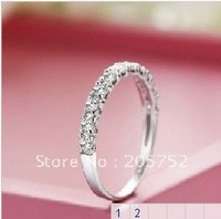 925 Sterling Silver Rings Engagement Rings Finger Rings Fashion Rings Wedding Jewelry Free Shipping