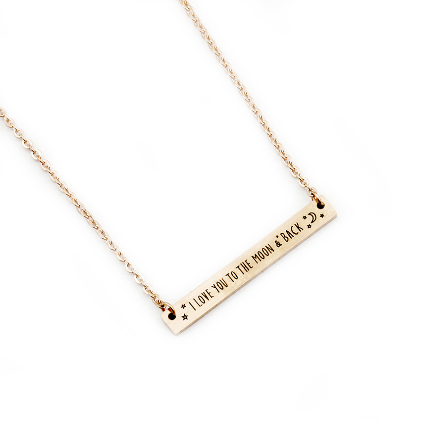bar item long gold chain crystal necklace micro cylinder pave in for pendant necklaces color stick from christmas women jewelry cz silver horizontal