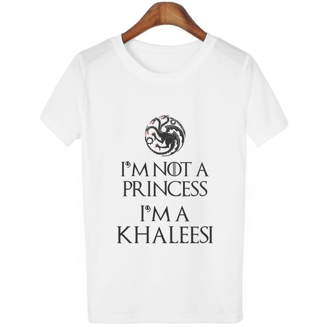 "Women's T-Shirt ""I'm Not A Princess I'm A Khaleesi""  2"