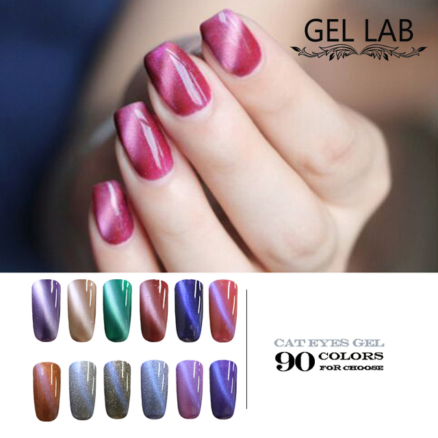 GEL LAB 7ml 3D Magnetic Cat Eyes Nail Gel Polish Brand LED Varnish UV