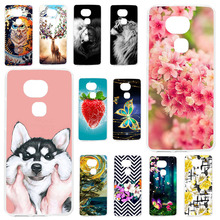 TAOYUNXI Phone Cases For BQ Aquaris V Case Silicone Cover Soft TPU Painted case Back bag Fundas