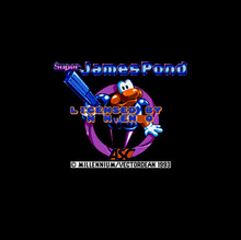 Super James Pond 16 bit Big Gray Game Card For NTSC Game Player Drop Shipping