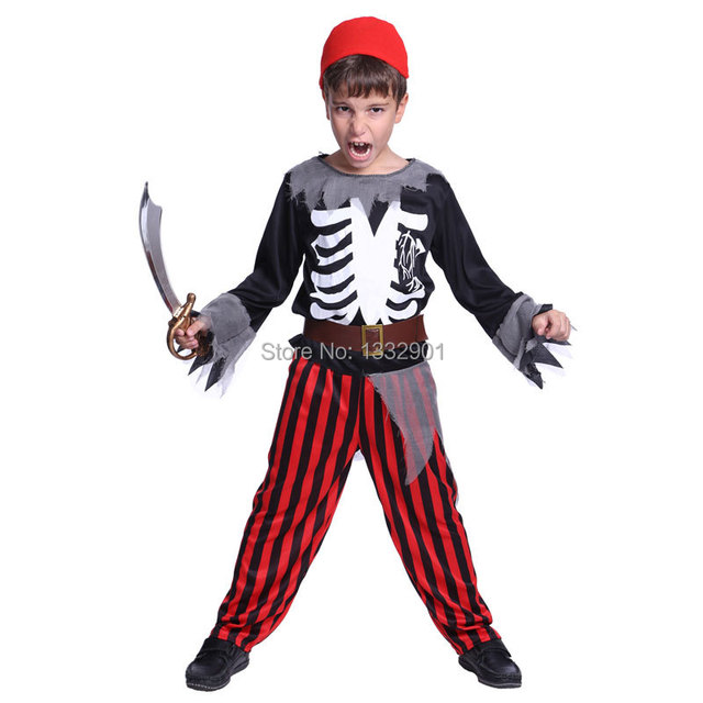 kids boys toddler zombie pirate skeleton vampire halloween costumes 5 9 year old