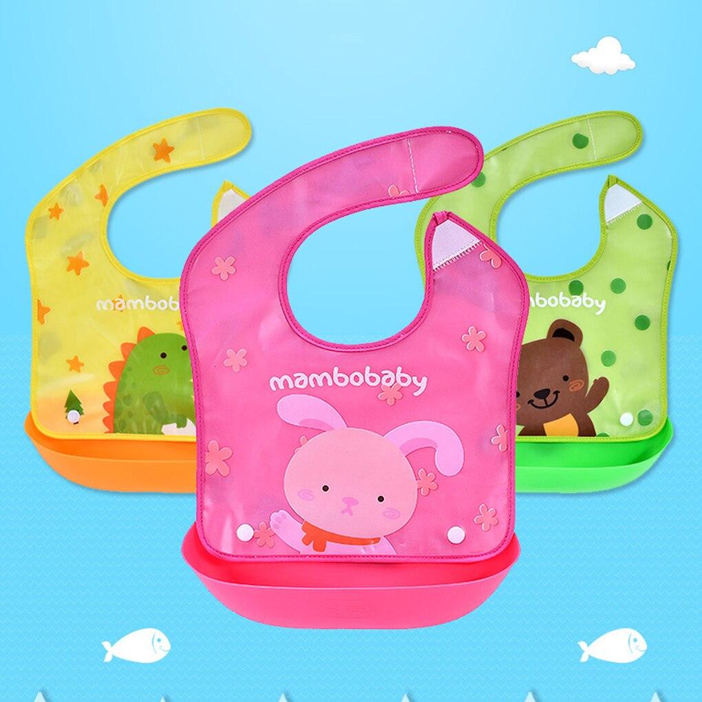 Mambobaby Brand New Baby Bibs Animals Cartoon Cute Infant Bib Waterproof Feeding Newborn Todder Food Bib