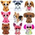 Новый TY Beanie Боос Плюшевые Чучела Животных Собака Коллекции 6 ''15 см Мило Ty Большие Глаза Симпатичные Мягкие Детские Детские Игрушки подарки
