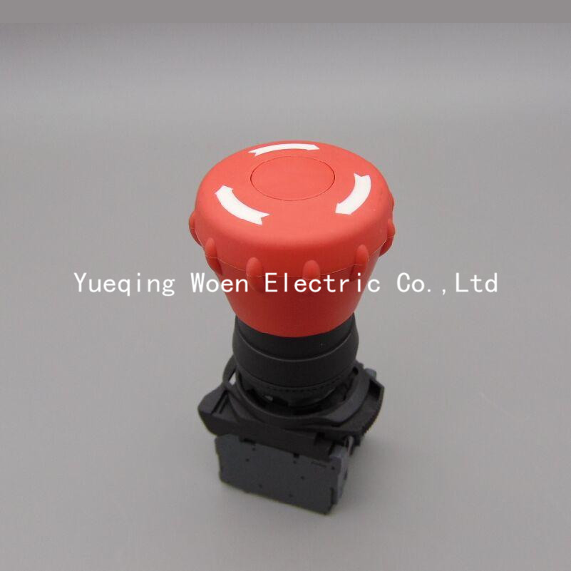 800-AQJ emergency stop button emergency stop switch 800AQJ  1NC 22mm