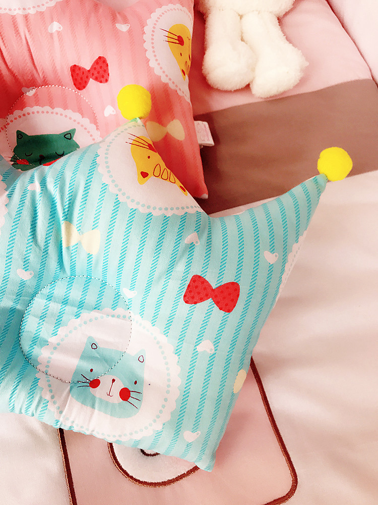 Baby Pillow Newborn Anti Roll Mother & Kids Baby Bedding Anti Flat Head Baby Pillow Decoration Room Kid Nursing Shaping Pillow (18)