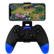 050 056 Gamepad sem fio Bluetooth Controlador Game Pad Joystick Para IOS Smartphone Android TV Box Suporte Do Telefone 3D Vidro