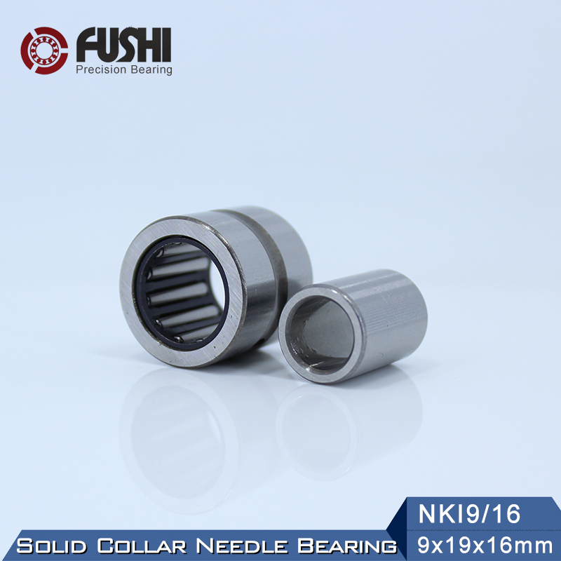 NKI9/16 Bearing 9*19*16 mm ( 1 PC ) Solid Collar Needle Roller Bearings With Inner Ring NKI 9/16