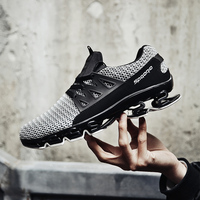 Super Popular Men Running Shoes Breathable Men Sneakers Bounce Shoes Bounce Sports Shoes Blade Jogging Walking Athletic Shoes 2
