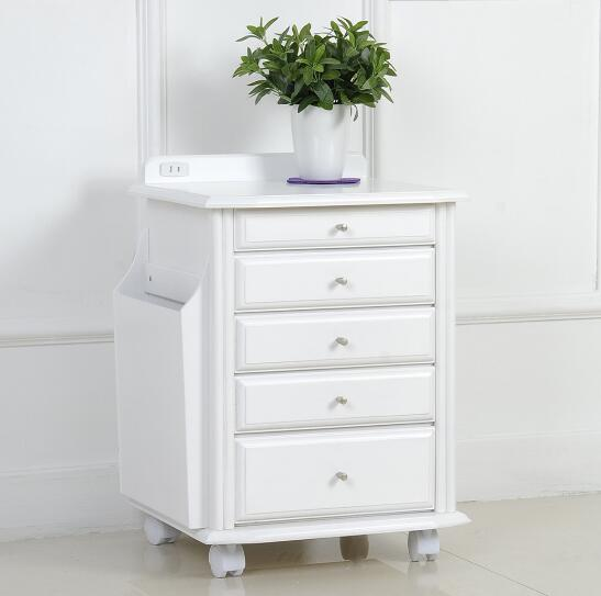 Small table simple modern side cabinet fashion corner cabinet wood A small cabinets Storage Boxes wooden Jewelry box
