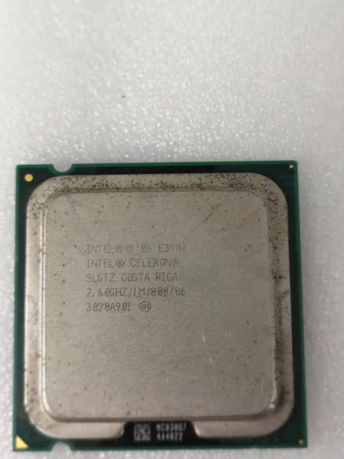 Intel Core 2 Duo E3400 Desktop Processor Dual-Core 2.6GHz 1MB Cache FSB 800MHz LGA 775 E 3400 Used CPU
