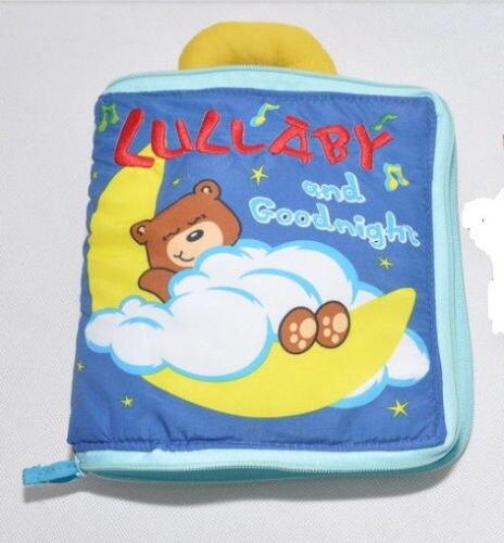 Кэндис Го! Новое поступление мягкие детские игрушки Multi-Touch медведь ткань книги Колыбельная и спокойной ночи творческий подарок 1 шт.