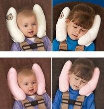 Carrinho de Bebê do carro Útil Almofada Encosto de Cabeça Cabeça Pescoço Rest Almofada De Algodão De Seda Confortável Ajustável Pescoço Proteção Tampas de Assento