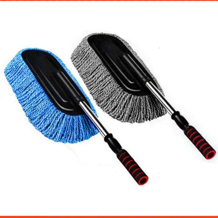 Vehicle Wax brush Telescopic car wash brush Removable wax tow cleaning brush Car cosmetic products Car cleaning brush