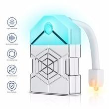 WENNI Toilet Light LED Sensor Lamp Motion WC Night Backlight For Bowl Bathroom Lighting PIR Veilleuse