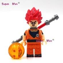 one piece Super Saiyan God Dragon Ball Kakarotto Goku building blocks lepin action model bricks Baby