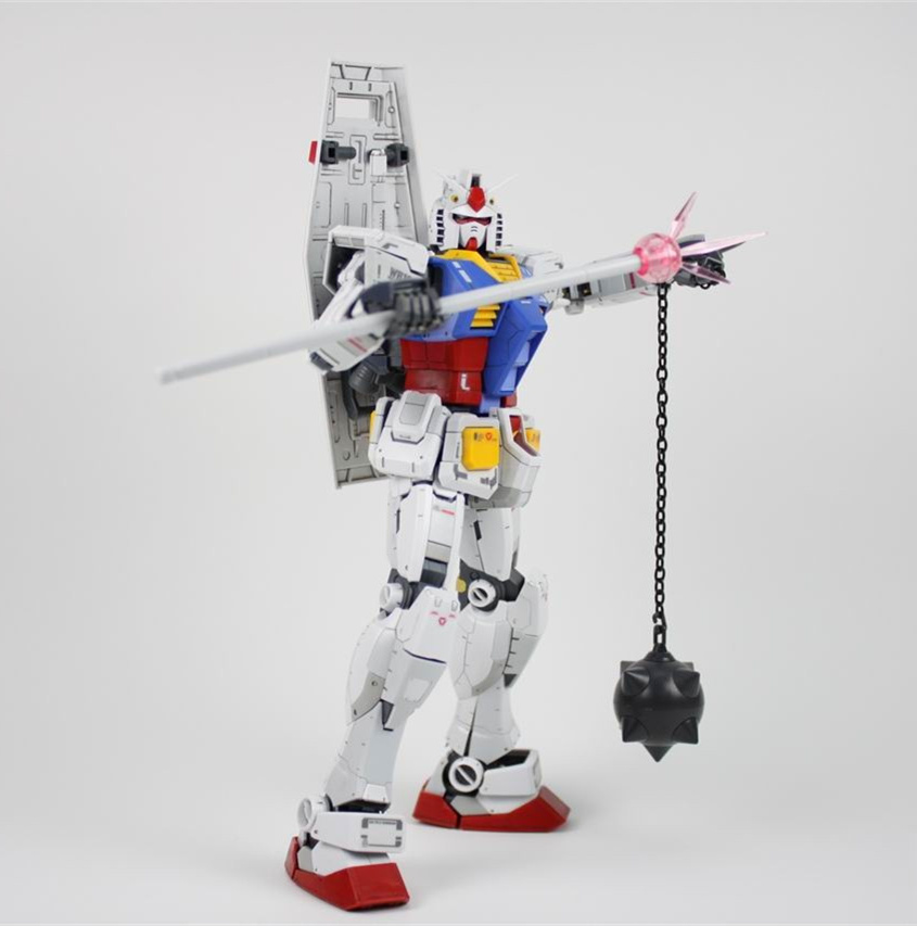Image 3 - Queen general weapon pack for Bandai MG RG HG 1/100 1/144  RX 78 2 Gundam modelpacking plantspacking china for shippingpacking beads -