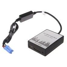 USB SD AUX سيارة MP3 راديو الموسيقى الرقمية CD مبدل التكيف لرينو 8pin كليو Avantime ماستر مودوس دايتون واجهة