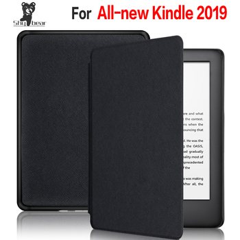 Walkers Stand Case For Amazon All-new Kindle 10th J9G29R for Amazon Kindle 2019 Smart Flip PU Leather Cover + Screen Protector new design case for amazon 2016 kindle 8th generation 6 ereader slim protective flip smart cover pu leather screen protector
