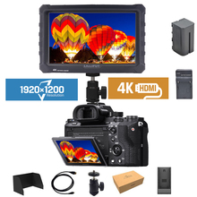 Lilliput 4K 7 inch IPS Screen 1920*1200 HDMI Full HD Camera Monitor for shooting video TFT Field Monitor with Battery