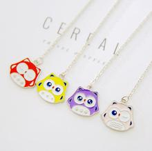New Arrived Cartoon Colorful Owl Pendant Bookmark Stationery School Office Supply Escolar Papelaria(China)