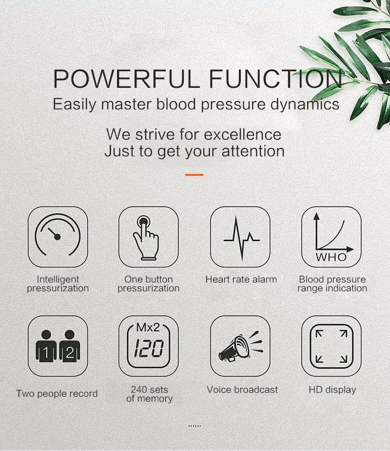 Braço Digital Monitor de Pressão Arterial equipamentos
