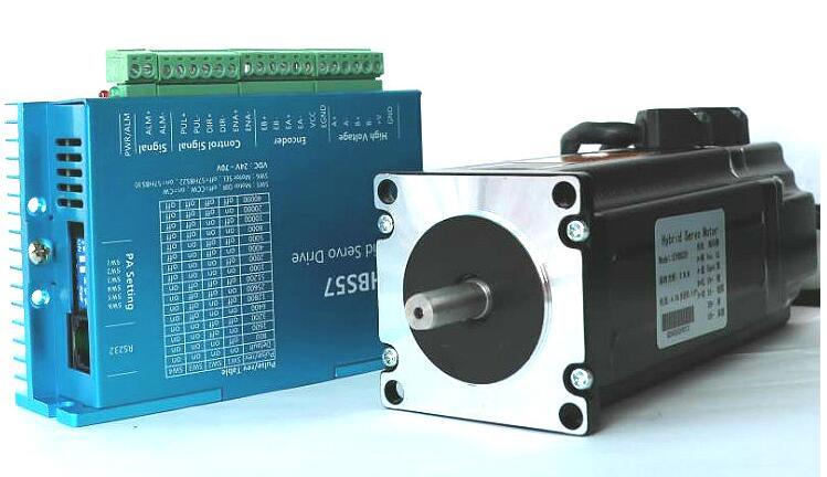 Новый оригинальный Гибридный кодер 57 замкнутый контур Гибридный Серводвигатель комплект 2ph 57 мм NEMA23 3NM 4A 1000 линия гравировка резки
