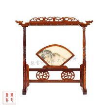 Red wood crafts antique miniature furniture of Chinese style home furnishing articles screen