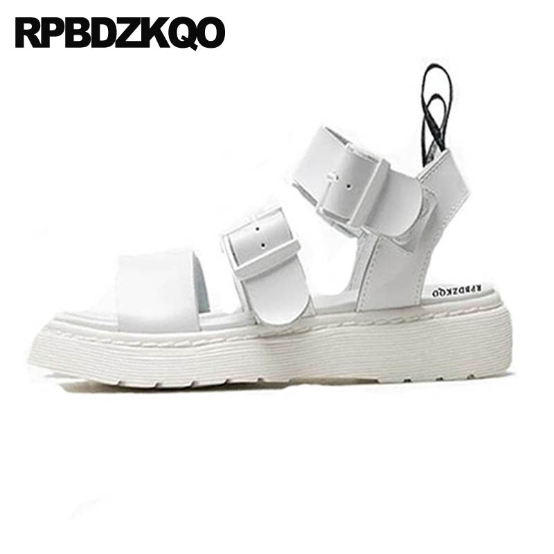 Women Designer Shoes Strappy Gladiator White Blue Open Toe Flat Red Flatform Two Strap Sandals Sneakers Harajuku High Quality strappy toe post flat sandals