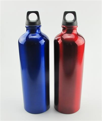 Aluminum Portable Outdoor Bike Sports Water Bottle Drinking Kettle with Lid
