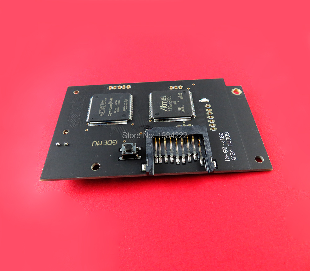Image 2 - New Optical Drive Simulation Board Card Simulator Board for SEGA  Dreamcast DC for GDEMU CD ROM VA1 Game Gaming AccessoriesReplacement  Parts