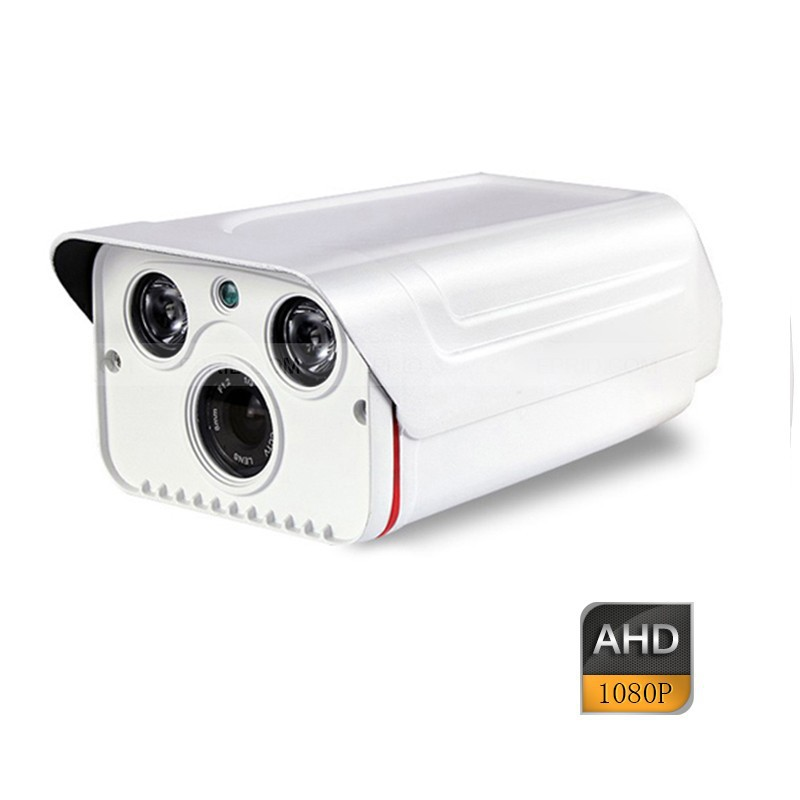 4CH AHD-H 2.0MP Array IR Metal Security Camera 1080P Full Realtime DVR System