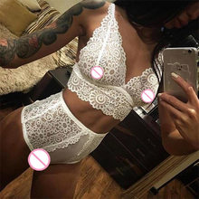 2018 Hot sale transparent intimates women robes female women's lace sexy sleepwear bathrobes spring and summer lingerie sets(China)