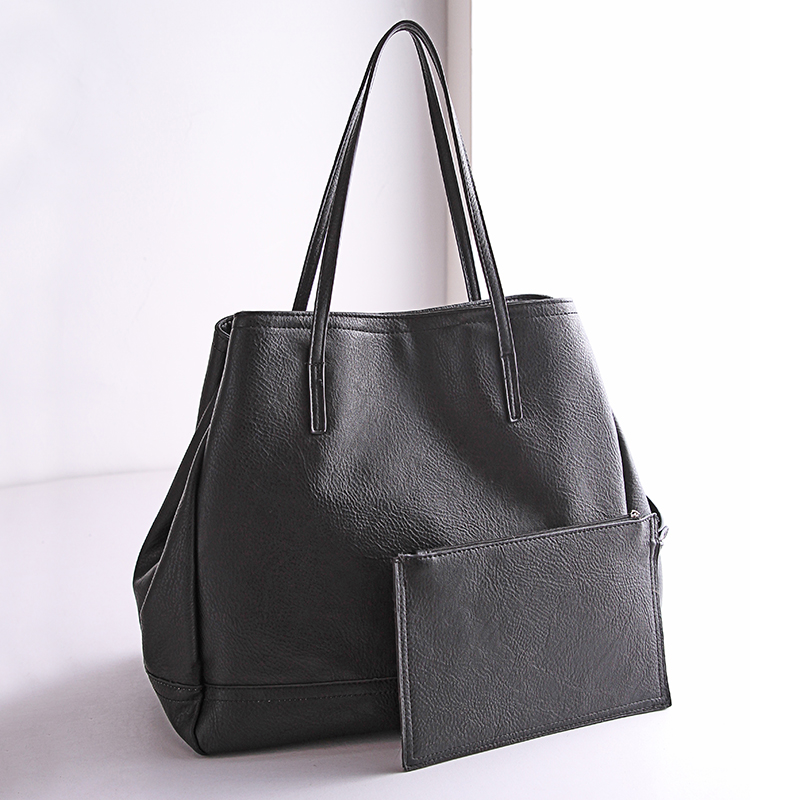 Womens Genuine Leather Handbags All-match Shoulder Bags Fashion Messenger Bag Soft Composite Bag Big Capacity Women BagsWomens Genuine Leather Handbags All-match Shoulder Bags Fashion Messenger Bag Soft Composite Bag Big Capacity Women Bags