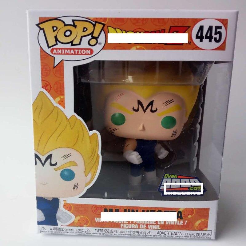 Funko pop Japanischen Amin Dragon Ball VEGETA #445 Vinyl Action Figure Sammeln Modell Spielzeug für kinder geburtstag geschenk