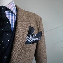 Brązowy Nailhead mężczyzna tweedowa kurtka mężczyźni Custom Made przyczynowy marynarka, szyte na miarę Tweed mężczyźni garnitur kurtka Veste Homme kostium Luxe
