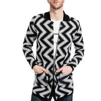 QIYUN Z 2017 Brand Clothing Spring Winter Cardigan Male Fashion Vintage High Quality Cotton Sweater Mens